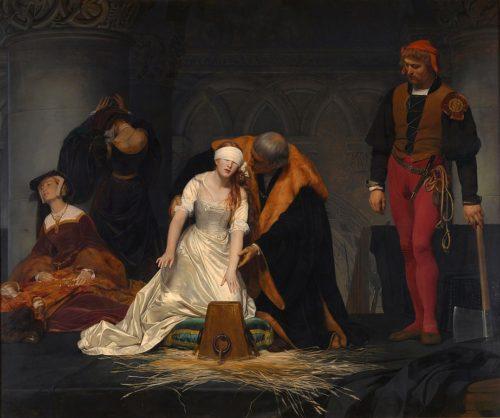 レディー・ジェーン・グレイの処刑
