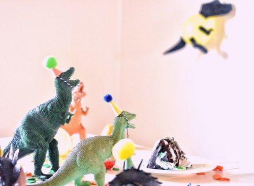 恐竜バースデーパーティ