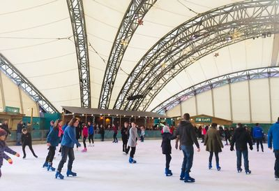 Eden project icerink