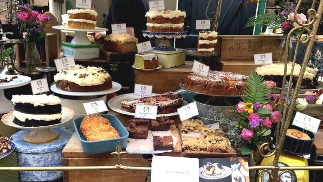 英国のケーキ