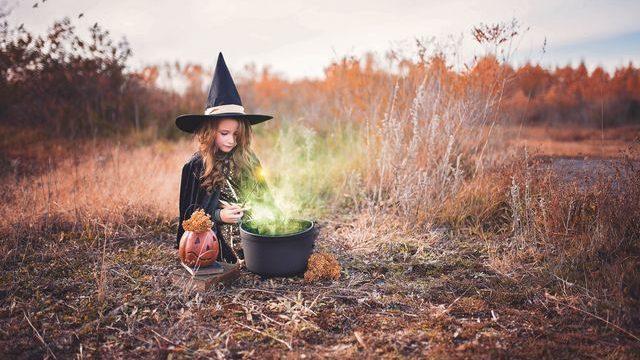 ハロウィン 魔女っ子