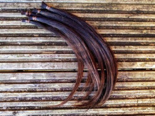 ヘアドネーション用の髪の毛