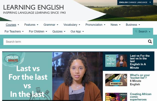 BBC ラーニング イングリッシュ
