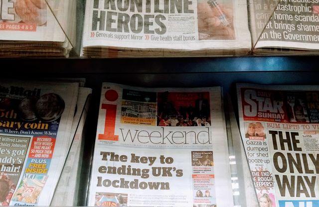 イギリス 新聞