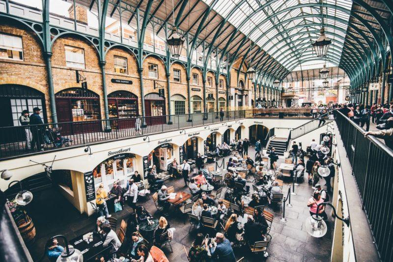 ロンドンのおすすめ観光スポット コヴェント・ガーデン Covent Garden