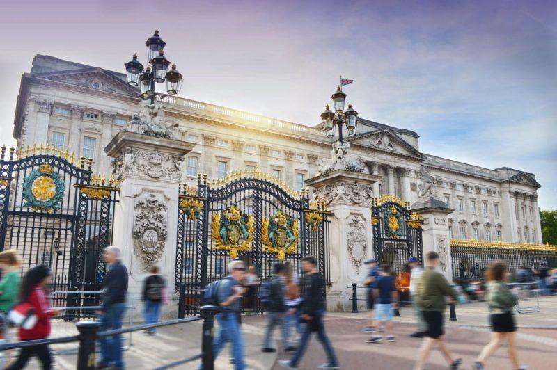ロンドンのおすすめ観光スポット バッキンガム宮殿 Buckingham Palace