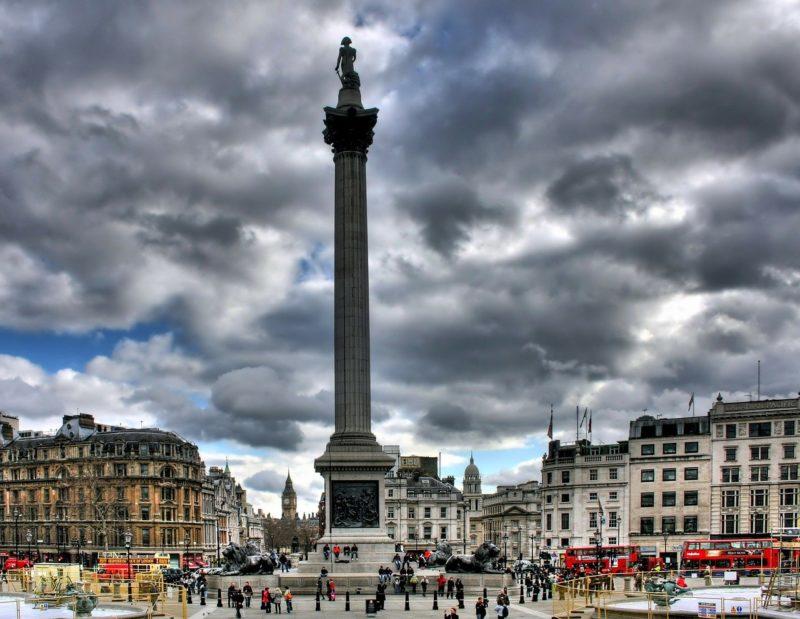 ロンドンのおすすめ観光 トラファルガー広場 Trafalgar Squareスポット