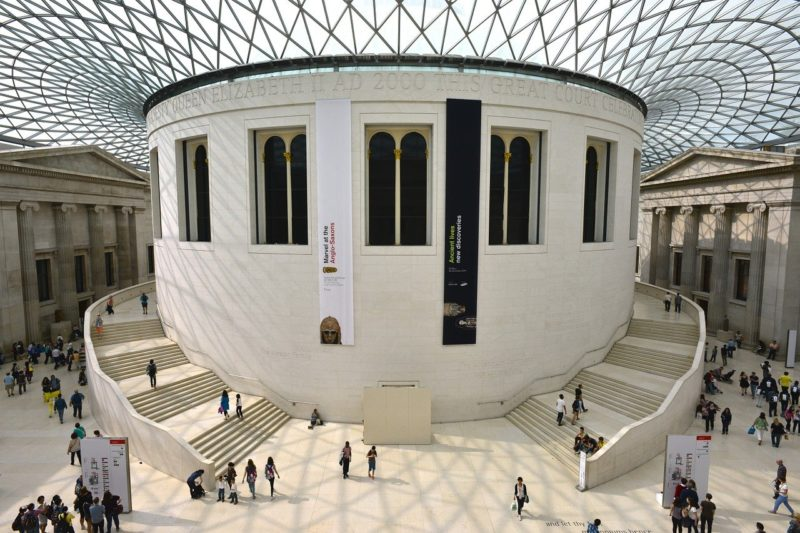 ロンドンのおすすめ観光スポット 大英博物館 The British Museum