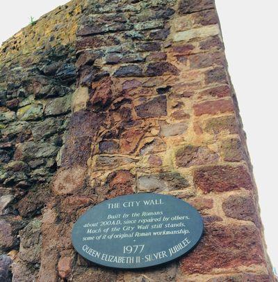 中世時代の壁