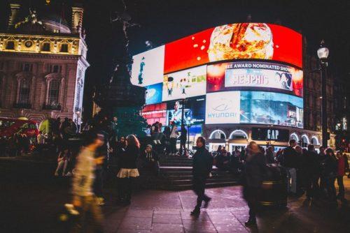 ロンドンのピカデリーサーカス