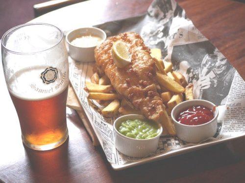 フィシュ&チップス イギリス 習慣