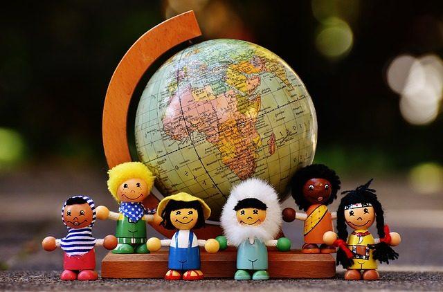 世界中で育児