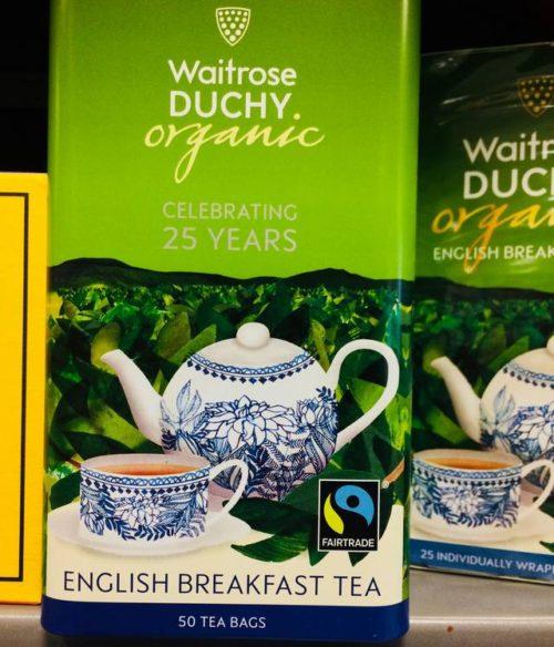 チャールズ皇太子 ティー お茶 オーガニック イギリス