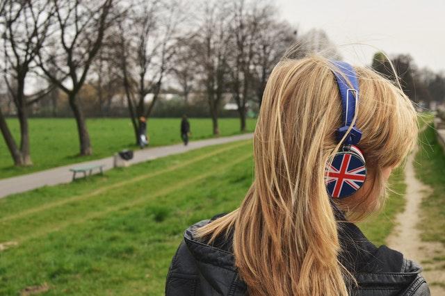 イギリスの女の子