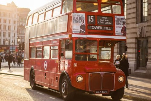 ロンドン バス 習慣