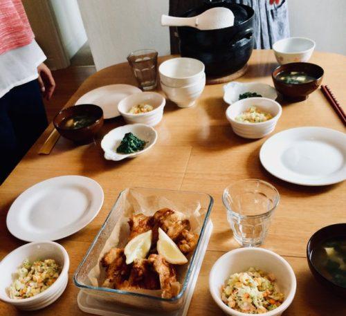 海外 美味しい ご飯 炊飯 土鍋 炊き方 イギリス ランチ会