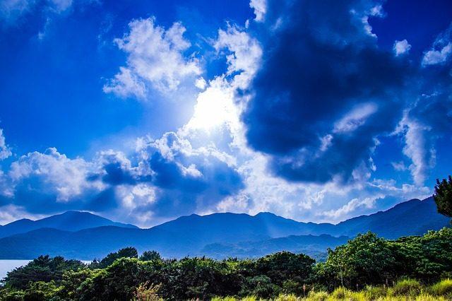 日本 一時帰国 山