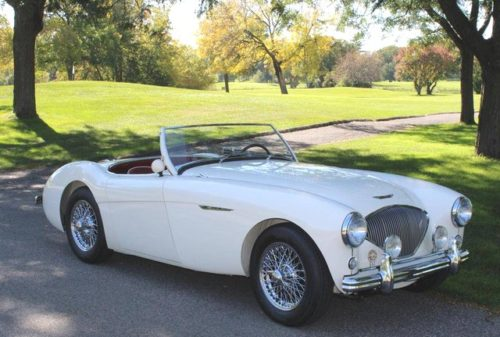 オースチン・ヒーレー イギリス スポーツカー 英国 車 上流階級