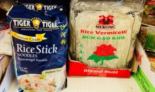 Rice noodle ビーフン イギリス