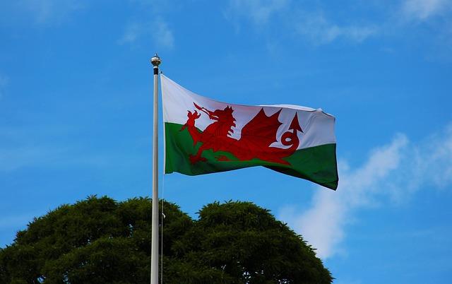 ウェールズ 旗 歴史
